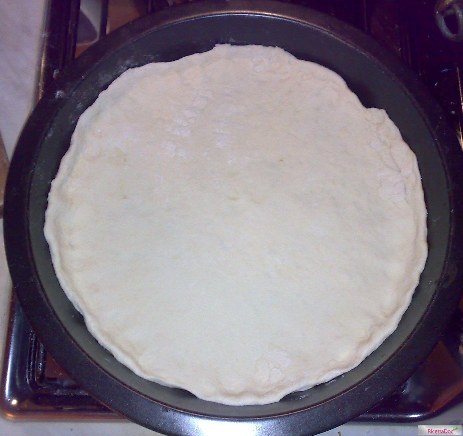 Stesura Pasta della Pizza