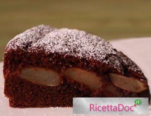 torta cioccolato pere
