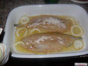 aggiungere limone all sogliola al forno