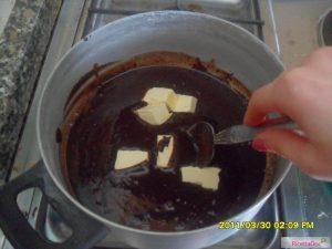 torta cioccolato caffè inserimento burro