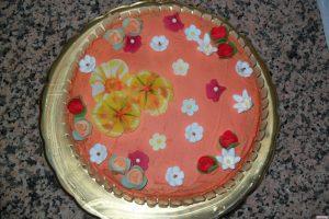 torta con crema rocher