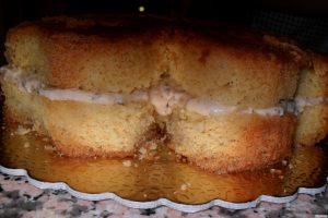 crema alla ricotta assemblaggio torta