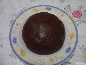 Biscotti cioccolato mandorle composto omogeneo