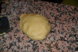 Biscotti bicolore impasto unico