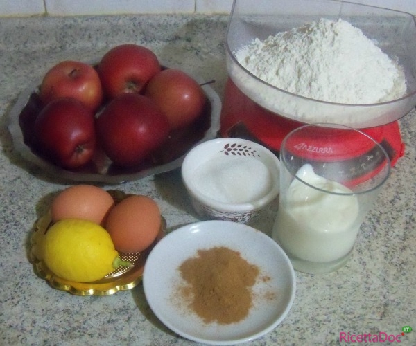 ingredienti torta di mele