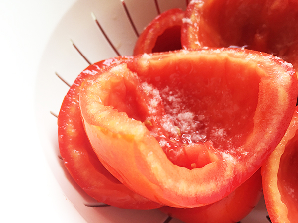 Salare i pomodori