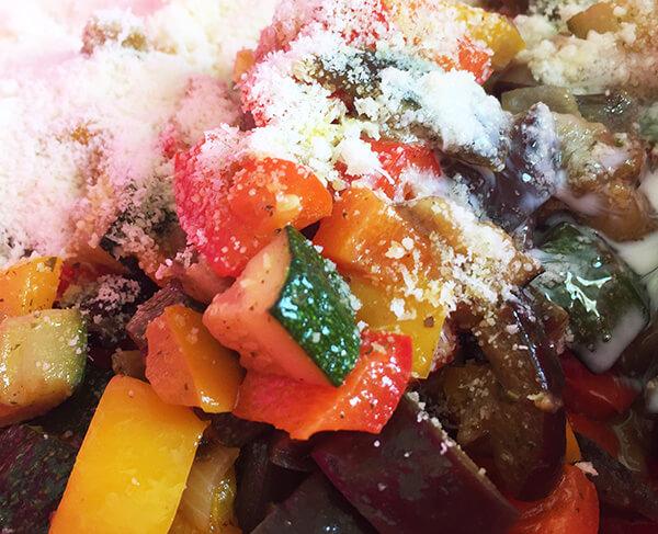 verdure per il ripieno